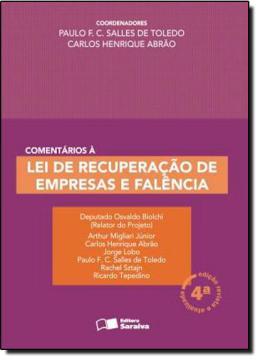 COMENTARIOS A LEI DE RECUPERACAO DE EMPRESAS E FALENCIA - 5ª ED