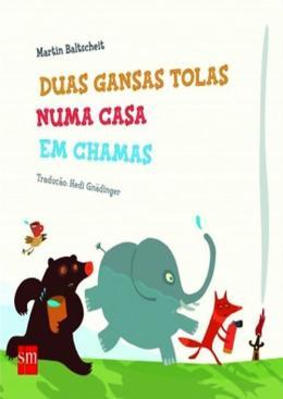 DUAS GANSAS TOLAS NUMA CASA EM CHAMAS