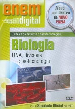 ENEM DIGITAL BIOLOGIA - DNA DIVISOES E BIOTECNOLOGIA - DVD