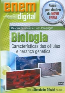 ENEM DIGITAL BIOLOGIA - CARACTERISTICAS DAS CELULAS E HERANCA - DVD