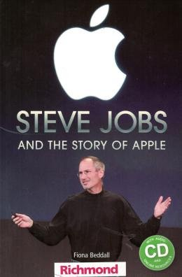 STEVE JOBS AND THE HISTORY OF APPLE WITH AUDIO CD