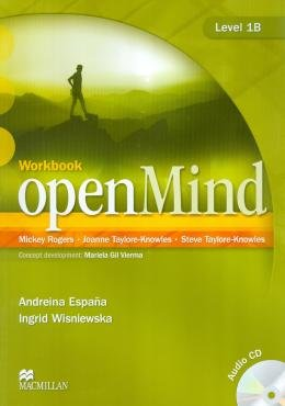 OPEN MIND 1B WB WITH AUDIO CD - 1ST ED