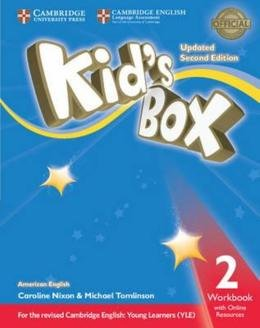 KIDS BOX AMERICAN ENGLISH 2 WB WITH ONLINE RESOURCES - UPDATED 2ND ED