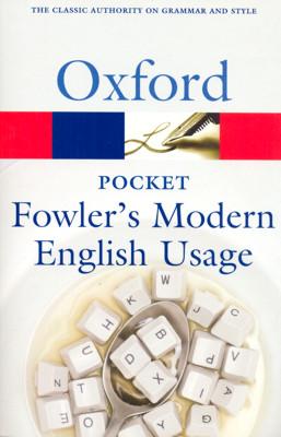 POCKET FOWLER MODERN ENGLISH USAGE