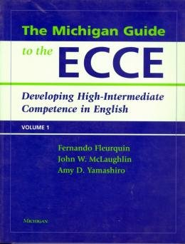 MICHIGAN GUIDE TO THE ECCE, THE - VOL. 1 - WITH CD