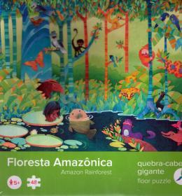 FLORESTA AMAZONICA - QUEBRA-CABECA GIGANTE