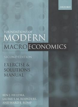 FOUNDATIONS OF MODERN - MACRO ECONOMICS - 2ND ED