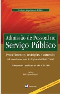 ADMISSAO DE PESSOAL NO SERVICO PUBLICO