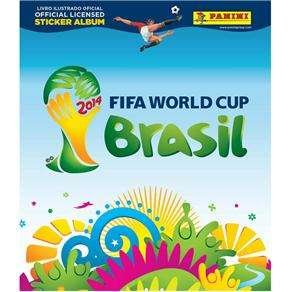 ALBUM DA COPA DO MUNDO 2014 - FIFA WORLD CUP BRASIL