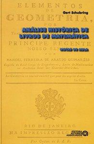 ANALISE HISTORICA DE LIVROS DE MATEMATICA - NOTAS DE AULA
