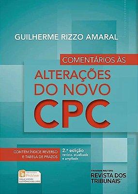 COMENTARIOS AS ALTERACOES DO NOVO CPC