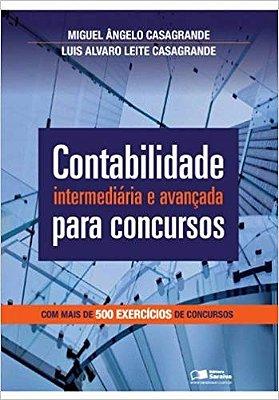 CONTABILIDADE INTERMEDIARIA E AVANCADA PARA CONCURSOS