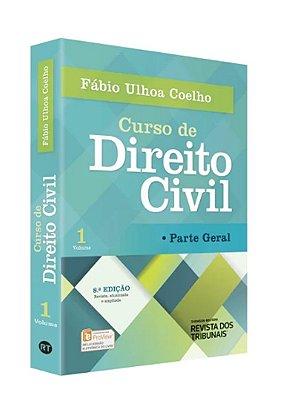 CURSO DE DIREITO CIVIL - VOL.1 - PARTE GERAL