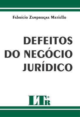 DEFEITOS DO NEGOCIO JURIDICO