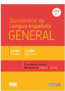 DICCIONARIO DE LENGUA ESPANOLA - GENERAL