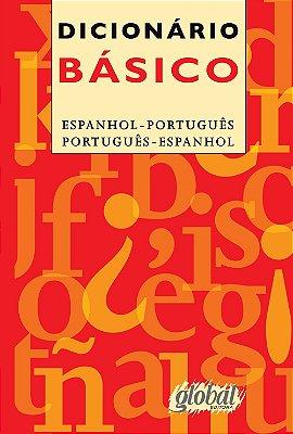 DICIONARIO BASICO - ESPANHOL - PORTUGUES E PORTUGUES - ESPANHOL