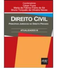 DIREITO CIVIL - ATUALIDADES III