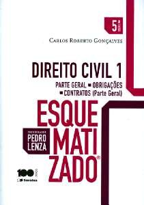 DIREITO CIVIL ESQUEMATIZADO 1 - PARTE GERAL - OBRIGACOES - CONTRATOS