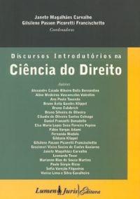 DISCURSOS INTRODUTORIOS NA CIENCIA DO DIREITO