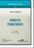 ELEMENTOS DO DIREITO - DIREITO TRIBUTARIO - VOL. 3