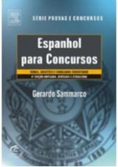 ESPANHOL PARA CONCURSOS - SERIE PROVAS E CONCURSOS