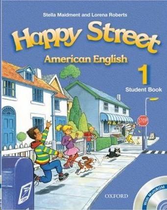 HAPPY STREET 1 AMERICAN ENGLISH SB W MULTIROM PACK