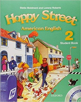 HAPPY STREET 2 AMERICAN ENGLISH SB W MULTIROM PACK