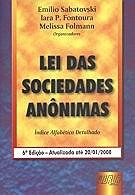 LEI DAS SOCIEDADES ANONIMAS