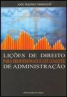 LICOES DE DIREITO PARA PROFISSIONAIS E ESTUDANTES DE ADMINISTRACAO
