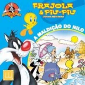 MALDICAO DO NILO, A - COL. FRAJOLA E PIU-PIU - LEITURA MISTERIOSA