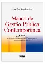 MANUAL DE GESTAO PUBLICA CONTEMPORANEA