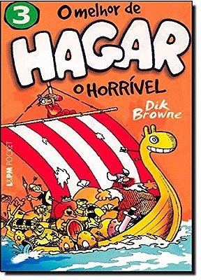MELHOR DE HAGAR, O - O HORRIVEL - VOL. 3