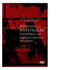 METODOLOGIA DA INVESTIGACAO CIENTIFICA PARA CIENCIAS SOCIAIS APLICADAS