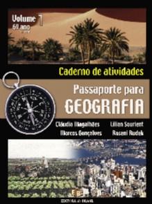 PASSAPORTE PARA GEOGRAFIA - CAD. DE ATIVIDADES - VOL. 1 - 6 ANO - 5 SERIE