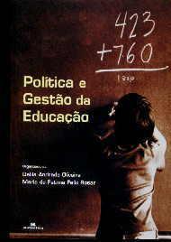 POLITICA E GESTAO DA EDUCACAO