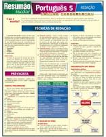 Resumao Escolar - Portugues 5 - Redacao