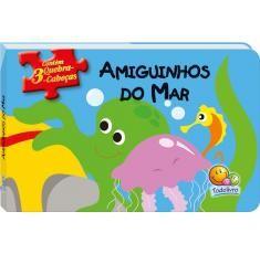 QUEBRA-CABECAS: AMIGUINHOS DO MAR - COL.AMIGUINHOS EM QUEBRA-CABECAS
