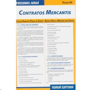 RESUMOS JURUA - DIREITO - CONTRATOS MERCANTIS-VOLUME 04