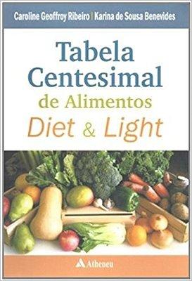TABELA CENTESIMAL DE ALIMENTOS DIET E LIGHT