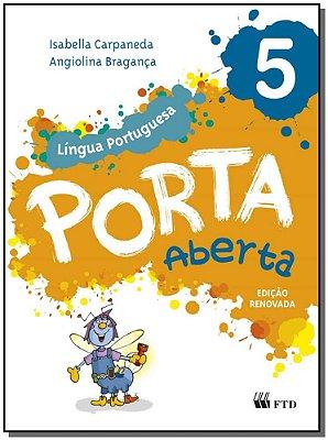 Porta Aberta - Língua Portuguesa - 5° Ano - 02Ed/15