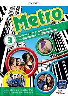 Metro 3 Student Book e Workbook - 01Ed/17