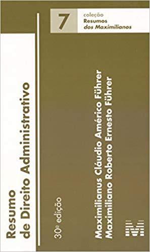 Resumo (07) Direito Administrativo - 30Ed/19