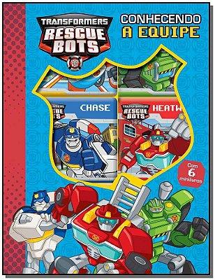 Transformers Rescue Bots - Conhecendo a Equipe