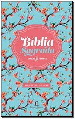 Bíblia Sagrada - Leitura Perfeita - ACF - (Capa Floral)