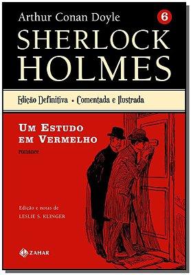 Sherlock Holmes Edição Definitiva – Vol.6: um Estudo em Vermelho