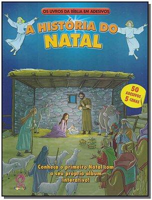 Livros da Bíblia em Adesivos-história do Natal, A