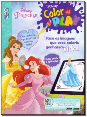 Disney Color And Play - Princesas