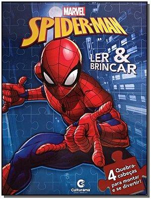 Spider-Man - 4 Quebra-Cabeças Para Montar e se Divertir!
