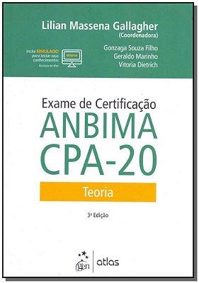 Exame de Certificacao Anbima Cpa - 20 Teoria-03/18