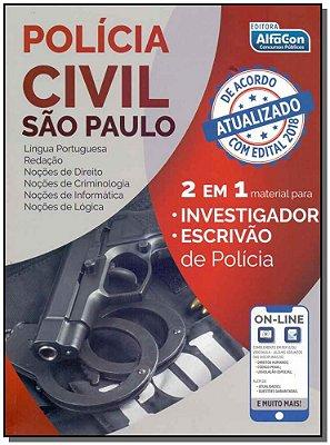 Polícial Civil São Paulo 2 em 1